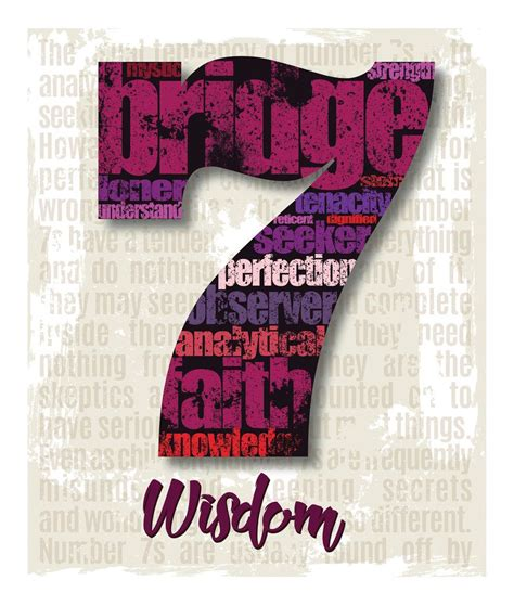 no 7 print numerology angel numbers and numerology chart