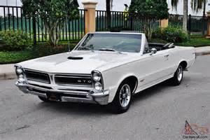 1965 Pontiac Gto Convertible For Sale 1965 Pontiac Gto Convertible
