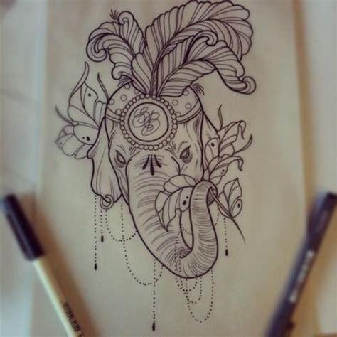 african elephant outline tattoo pinterest images of elephant outline tattoo tattoo ideas drawing