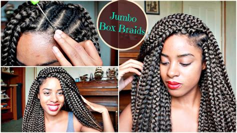 How Long Do It Take For Jumbo Braids | crochet jumbo box braids in 2 hours review demo youtube