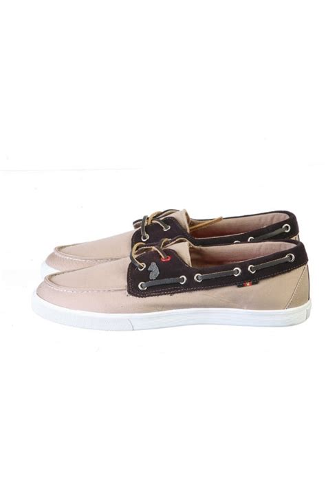 luke 1977 canvas suede boat shoes in range of colours