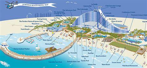 sheraton jumeirah resort map image gallery jumeirah map