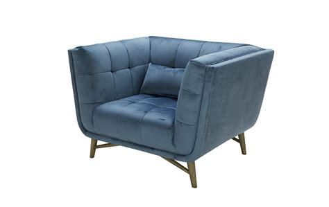 blue velour sofa divani casa moraine modern blue velour sofa set