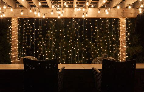 best ever backyard lighting string lights yard envy