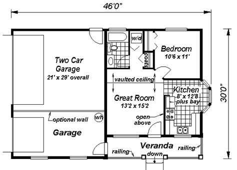 the mother in law cottage is 16 800 country style house plan 1 beds 1 baths 572 sq ft plan 18 1041