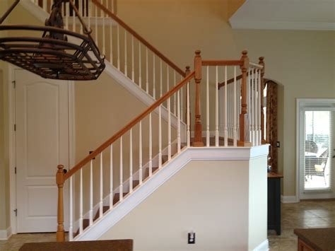 Modern Banisters And Handrails by Decor Tips Stylish Painted Banisters With Newels And