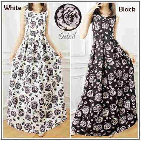 Carissa Dress Putih Ld 105 gaun cantik wedges p1036 model baju remaja terbaru