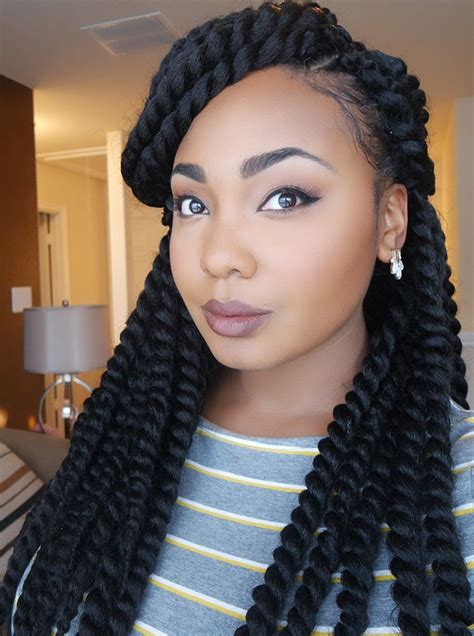 Hairstyles For Braids by Cool Jumbo Braid Hairstyles For Black