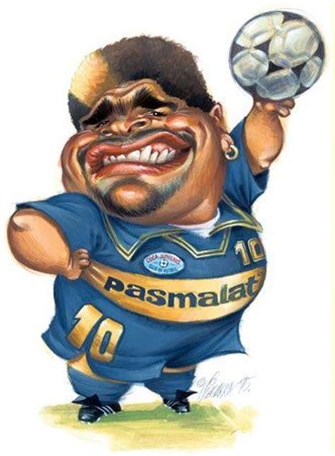 images  caricaturas futbolistas  pinterest