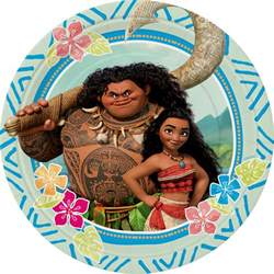 Minions Party Decorations Moana Paper Plates Partyspot