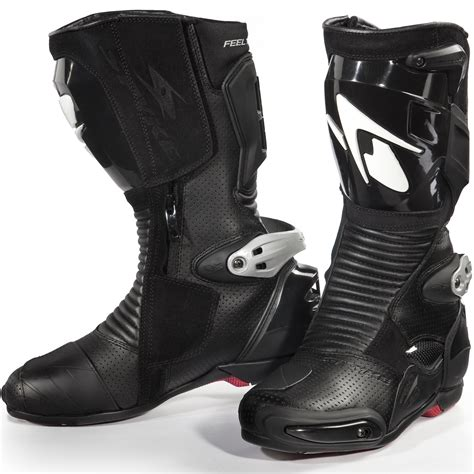 Spyke Totem 2 0 Motorcycle Boots Sports Race Bike Vented