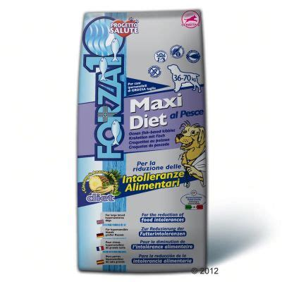 farza maxi forza 10 maxi diet with fisch free p p 163 29 at zooplus