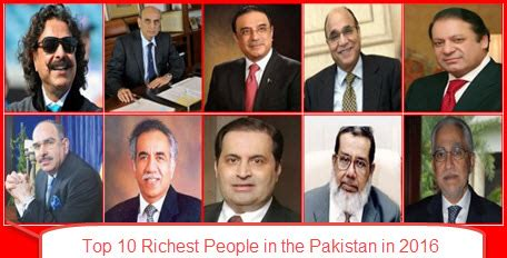 top 10 richest in the pakistan in 2016 learn money l blogging l