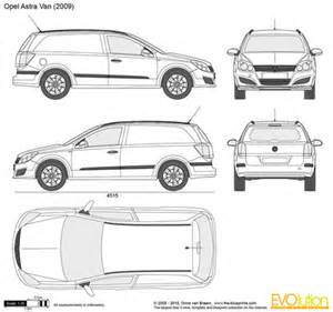 Vauxhall Astravan Dimensions The Blueprints Vector Requests Vauxhall Astravan