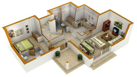 floor plan in 3d perfect 3d house blueprints and plans with 3d floor plans