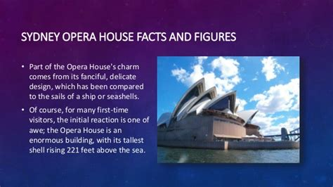 sydney opera house facts architectural wonders the sydney opera house