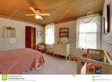 old fashioned wall ls old fashioned house interior kids room stock photo image