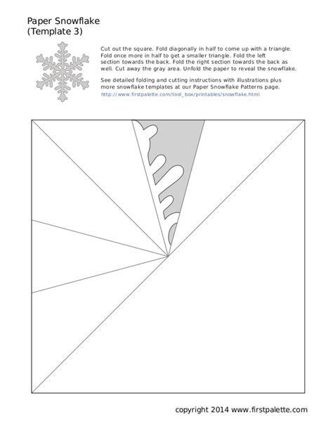 olaf snowflake template printable snowflake3