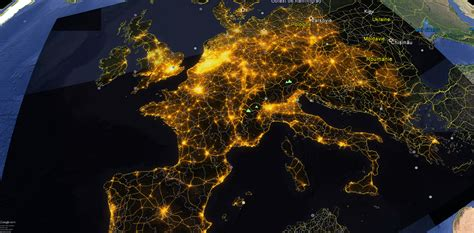 light pollution map earth europeean light pollution map avex 2016 les dossiers avex