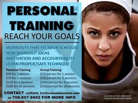 Personal Training Fitness Flyer Pinterest Garage Gym Gym And Exercises Personal Trainer Ad Template