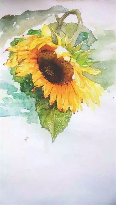 watercolor tutorial sunflowers 1000 images about artistic sunflowers on pinterest