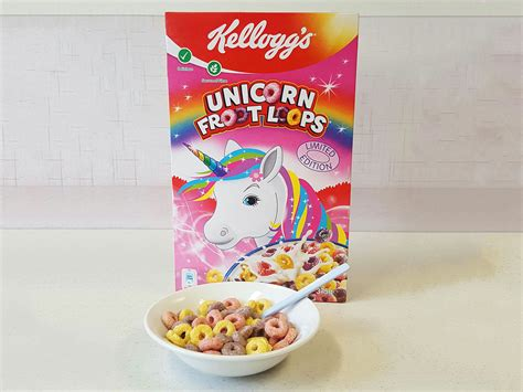 fruit unicorn limited edition unicorn froot loops are in supermarkets