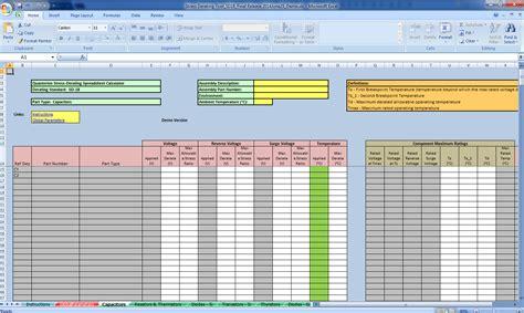 Calculator Spreadsheet by Stress Derating Spreadsheet Calculator Quanterion