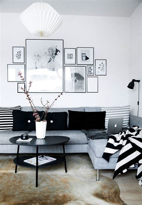 Black And White Apartment Interior Design Simple Black And White Apartment Design Attractor