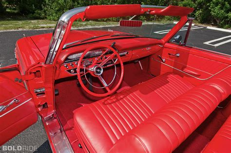 1961 ford galaxie interior 1961 ford galaxie sunliner convertible classic luxury