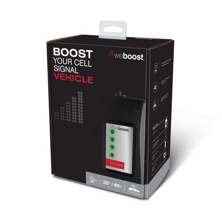 weboost drive 4g m cell phone signal booster for car
