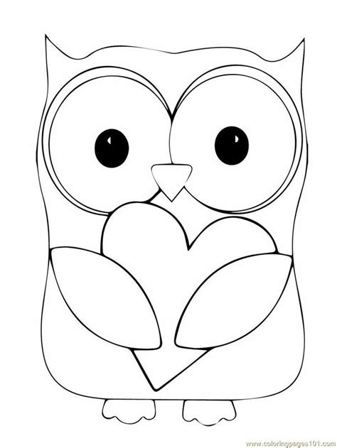 coloring pages of big owl sowy kolorowanki do wydrukowania fd