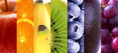 healthy colors eating a rainbow