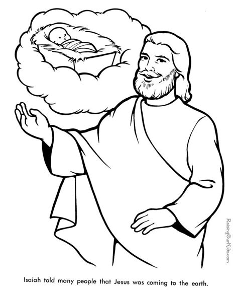 coloring page jesus coming again 25 best ideas about prophet isaiah on isaiah