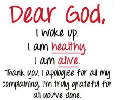 thank you letter to god i apologize for all my complaining read funke akindele