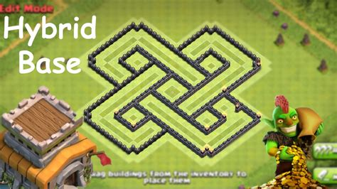 town hall 8 hybrid base best clash of clans base town hall 8 farming www imgkid