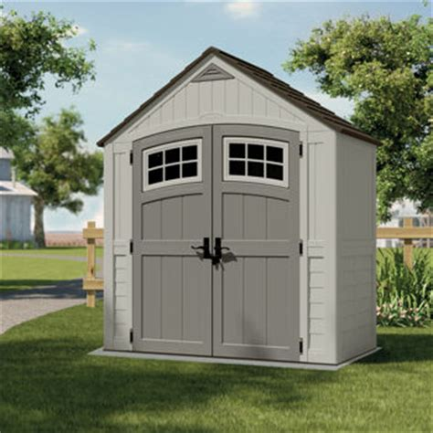 backyard sheds costco suncast 174 7 ft x 4 ft cascade storage shed costco