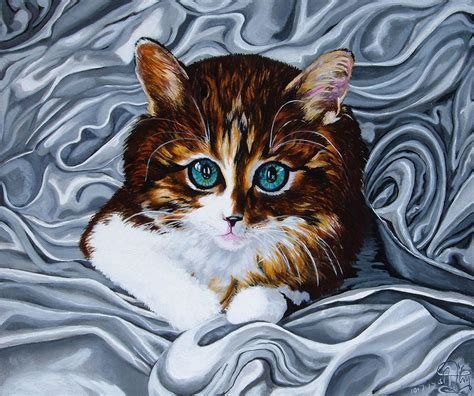 painting cat whiskers your whiskers the cat painting by jimerson