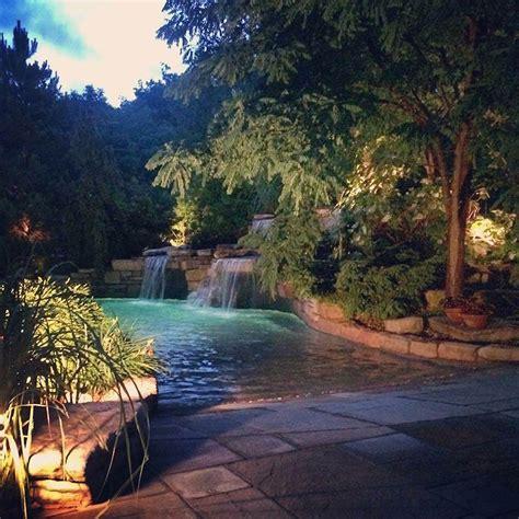 custom swimming pools minks outdoor professionals oak