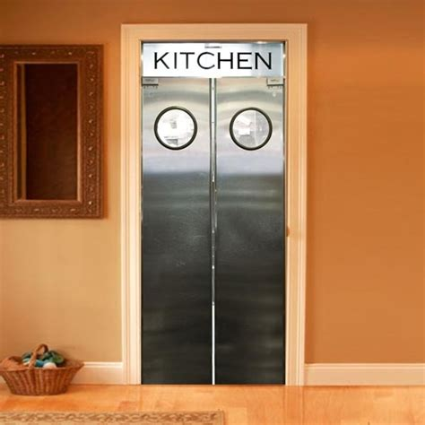 interior kitchen doors style your door trompe l oeil kitchen door by couture deco