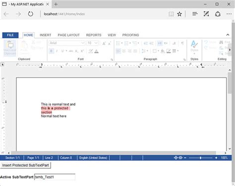 asp net mvc section asp net mvc adding protected sections to documents