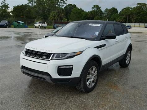 wrecked range rovers for sale wrecked 2017 land rover range rove for sale in fl fort