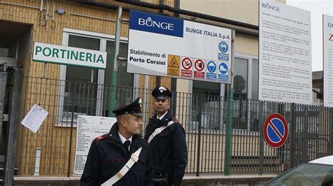 bunge porto corsini ravenna bunge spa sequestro preventivo dei carabinieri