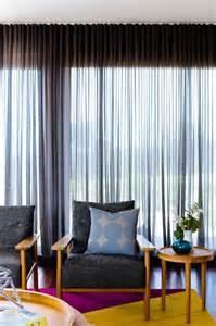 Curtain Treatments Jan15 Window Treatments Sheer Grey Curtains Retro Living