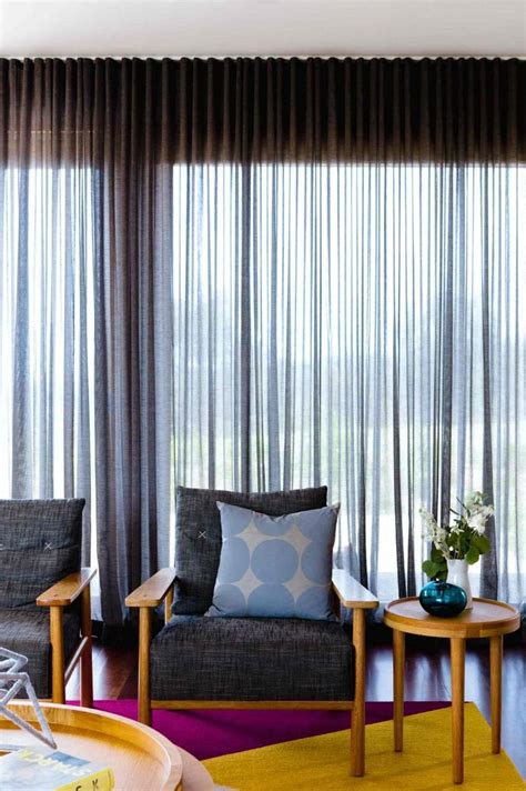 curtain treatments jan15 window treatments sheer grey curtains retro living