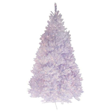 general foam 7 5 ft pre lit deluxe winter white fir
