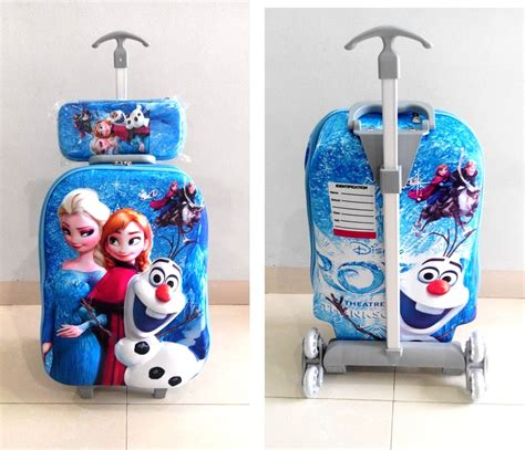 Tas Trolley Anak 4 In 1 7d Frozen Elsa tas frozen archives grosirimpor