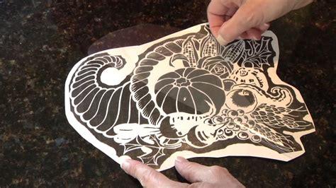 knife pumpkin pattern pumpkin carving pattern fast transfer method youtube