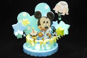 Baby mickey mouse cake toppers baby shower mickey mouse cake