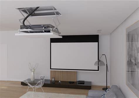 Fixation Plafond Videoprojecteur by Support Motoris 233 Pour Vid 233 Oprojecteur Alulift
