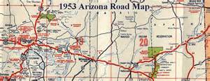 eastern arizona map driving directions and maps